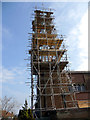 TQ2995 : Spire, St Thomas's Church, London N14 by Christine Matthews
