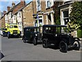 SP8699 : Historic vehicles in High Street East, Uppingham by Richard Green
