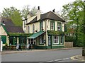 TQ1771 : The 'Hand and Flower', Upper Ham Road. Ham Common by Stefan Czapski