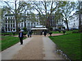 TQ2880 : View across Berkeley Square by Robert Lamb