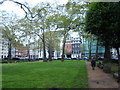 TQ2880 : View across Berkeley Square #2 by Robert Lamb