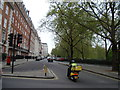 TQ2880 : View along Upper Grosvenor Street from Carlos Place by Robert Lamb