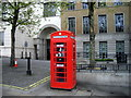 TQ2879 : Telephone Box, Knightsbridge London by PAUL FARMER