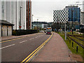 SJ8097 : The Quays (Loop Road) by David Dixon