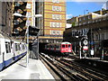 TQ2782 : Train entering Baker Street (Metropolitan line) from the north by Richard Vince