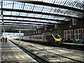 SJ8745 : Under the overall roof at Stoke station by Richard Vince