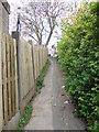 SE1233 : Footpath - Leaventhorpe Avenue by Betty Longbottom