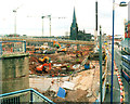 SP0786 : Bull Ring Shopping Centre Under Construction April 2001 by Roy Hughes