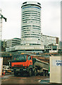 SP0786 : Bull Ring Shopping Centre Under Construction April 2001 (2) by Roy Hughes