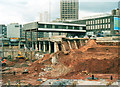 SP0786 : Bull Ring Shopping Centre Under Construction April 2001  (3) by Roy Hughes