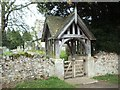 NU0116 : Lytch Gate, Ingram Church by Bill Henderson