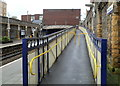 ST5774 : Ramp, Clifton Down railway station, Bristol by John Grayson