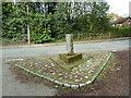 SJ5578 : Guide post? Aston Lane by Alexander P Kapp