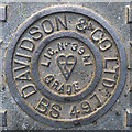 J5081 : Manhole cover, Bangor by Rossographer