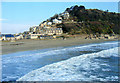 SX2553 : Looe Beach From Banjo Pier by Roy Hughes