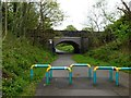 SJ8793 : Errwood Road Bridge by Graham Hogg