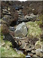 SK1387 : Stream at the head of Jaggers Clough by Andrew Hill