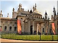 TQ3104 : Entrance to Royal Pavilion by Paul Gillett