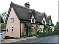 TM0431 : Thatched cottage, Lamb Corner by JThomas