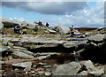 SK0888 : At the top of Kinder Downfall by Andrew Hill