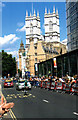 TQ2979 : Victoria Street London, Tour de France 2007 by Roy Hughes