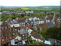 TQ4109 : Lewes viewed from Lewes Castle by pam fray