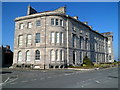 SH6076 : SW side of Grade I listed Victoria Terrace, Beaumaris by John Grayson