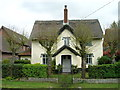 TM0834 : Thatched cottage, East Bergholt by JThomas