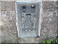 SK2774 : Ordnance Survey  Flush Bracket 10021 by Peter Wood