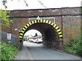 SP1586 : Railway bridge, Mackadown Lane by Christine Johnstone