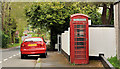 J3267 : Telephone box, Ballylesson, Belfast by Albert Bridge