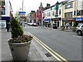 H4572 : Floral tub display, Omagh by Kenneth  Allen