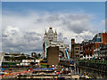 TQ3380 : Construction Work Near Tower Bridge by David Dixon