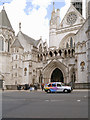TQ3181 : The Strand, The Royal Courts of Justice by David Dixon