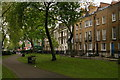 TQ3482 : Bethnal Green: Paradise Row seen from Paradise Gardens by Christopher Hilton