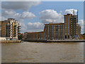 TQ3680 : River Thames, Limehouse by David Dixon
