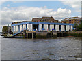 TQ3479 : Police Boatyard, Wapping by David Dixon