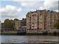 TQ3480 : Oliver's Wharf, Wapping by David Dixon