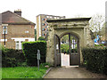 TQ3165 : Croydon Minster: ancient churchyard gateway by Stephen Craven