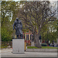 TQ3079 : Parliament Square, Sir Winston Churchill by David Dixon