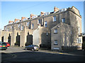 SP3166 : Rear of Milverton Crescent, Milverton Crescent West by Robin Stott