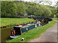 SJ9949 : The Caldon Canal at Consallforge by Graham Hogg
