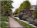 SD7807 : Remains of Former Railway Bridge by David Dixon