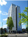 TQ2583 : Mary Green tower block viewed from the north, London NW8 by John Grayson