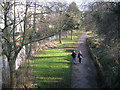 SP3165 : York Promenade from Adelaide Bridge by Robin Stott