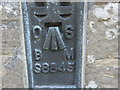 SK6754 : Ordnance Survey  Flush Bracket S8845 by Peter Wood