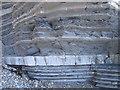 SN5882 : Aberystwyth Grits - bedding by Rudi Winter