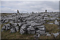 SD7970 : Limestone pavement and cairn, Moughton by Ian Taylor