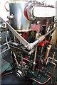 TQ7670 : Steam Tug Barking - Chatham Marina by Chris Allen