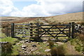 SD9021 : Gate to open moorland by Bill Boaden